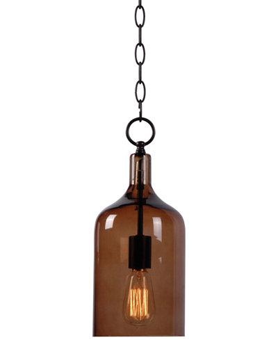 Kenroy home capri 1 light mini pendant