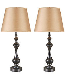 Kenroy Home Stratton II Set of 2 Table Lamps