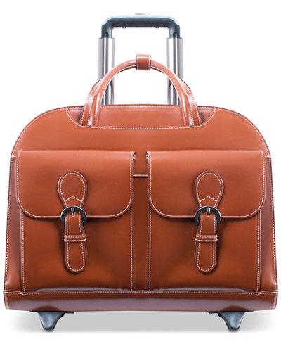 Mcklein Davis Wheeled Briefcase Backpacks Luggage