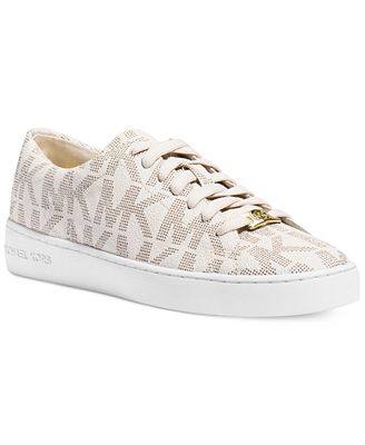 michael michael kors keaton sneakers shoes macy 39 s. Black Bedroom Furniture Sets. Home Design Ideas