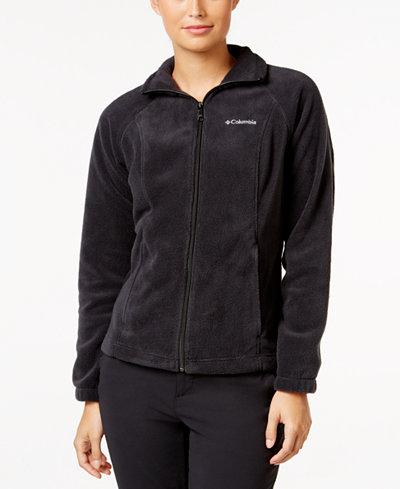 Columbia Petite Benton Springs Fleece Jacket - Jackets & Blazers ...