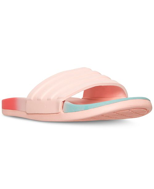 d4349c92ac38 ... adidas Women s Adilette Cloud Foam Fade Slide Sandals from Finish ...