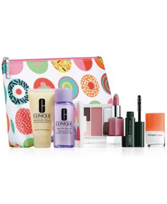 Choose your FREE 7-Pc. gift with any $27 Clinique purchase (A $70 ...