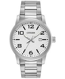 citizen watches macy s citizen men s quartz stainless steel bracelet watch 42mm bi1020 57a a macy s exclusive style