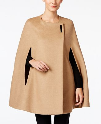 Alfani Hardware Cape Coat, Created for Macy's