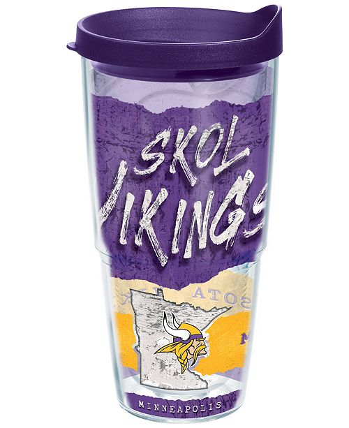 Tervis Tumbler Minnesota Vikings 24oz Statement Wrap Tumbler