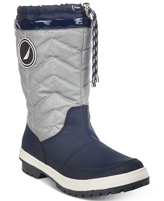 Nautica Becher Quilted Cold-Weather Boots