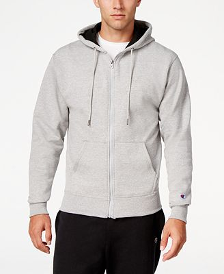 Champion Men's Powerblend Fleece Zip Hoodie - Hoodies ...