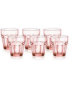 Bormioli Rocco Rock Bar Set of 6 Double Old Fashioned Glasses