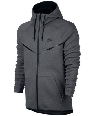 macys black nike jacket