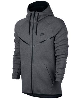 macy's black nike jacket