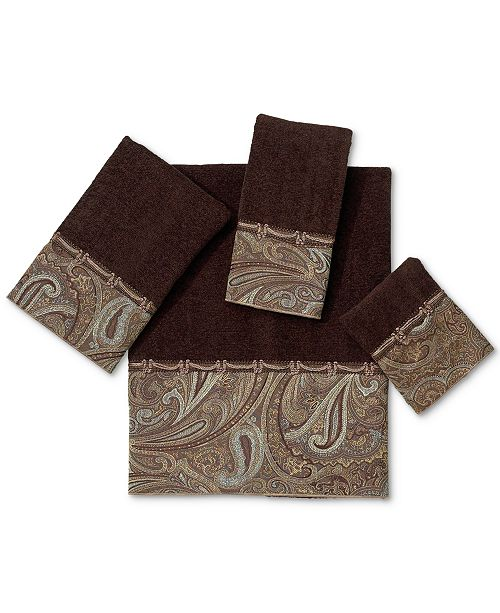 "Avanti Bath Towels, Bradford 13"" Square Washcloth"