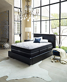 "Beautyrest Black Vivianne 15"" Plush Pillow Top Mattress Set- Queen Split"