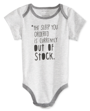 First Impressions Out of Stock Bodysuit Baby Boys  Baby Girls (024 months) Created for Macys