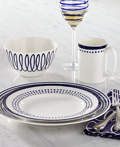 Kate Spade New York Charlotte Street East Collection Dinnerware Dining Amp Entertaining Macy S