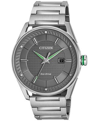 Citizen Drive from Citizen Eco-Drive Men's Stainless Steel Bracelet Watch 42mm BM6980-59H