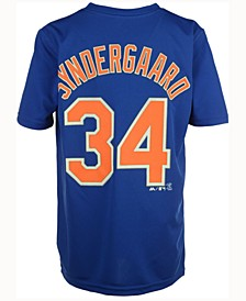 Noah Syndergaard New York Mets Poly Player T-Shirt, Big Boys (8-20)