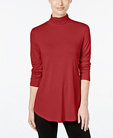 JM Collection Turtleneck Top, Created for Macy's