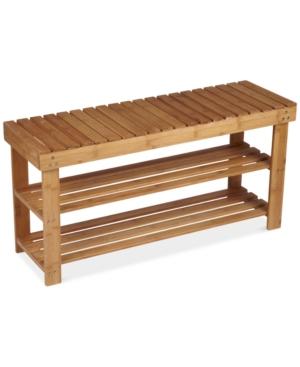 Household Essentials 2Shelf Storage Bench