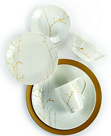 Market Street New York by Corelle Gilded Woods Dinnerware Collection
