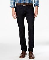 848f14da Tommy Hilfiger Denim Men's Slim-Fit Stretch Jeans, Created for Macy's