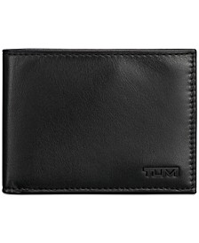 Men's Leather Double Billfold