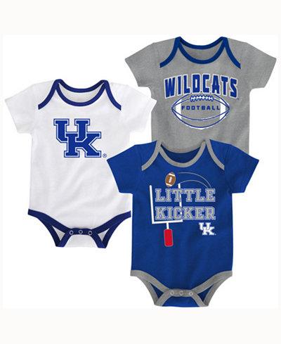 adidas Babies' Kentucky Wildcats 3 Points 3-Piece Creeper Set