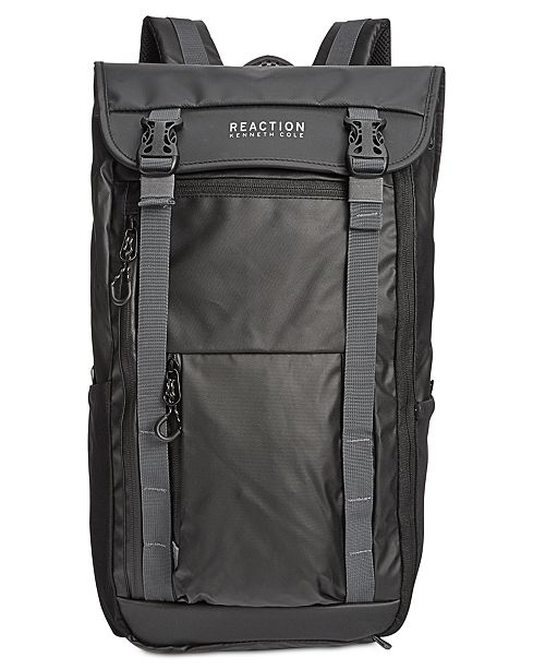 Kenneth Cole Reaction Men s Surge Hype Flap Computer Backpack - Bags ... dbf11bad15dc2