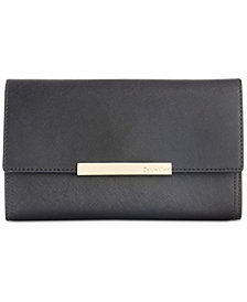 Calvin Klein Saffiano Leather Evening Clutch