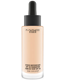 MAC Studio Waterweight SPF 30 Foundation, 1.0 US fl oz