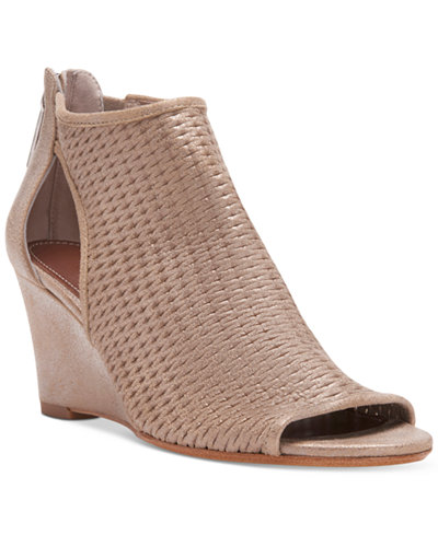 Donald Pliner Jace Perforated Wedge Sandals Sandals