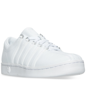 K-Swiss  K-SWISS MEN'S THE CLASSIC CASUAL SNEAKERS FROM FINISH LINE