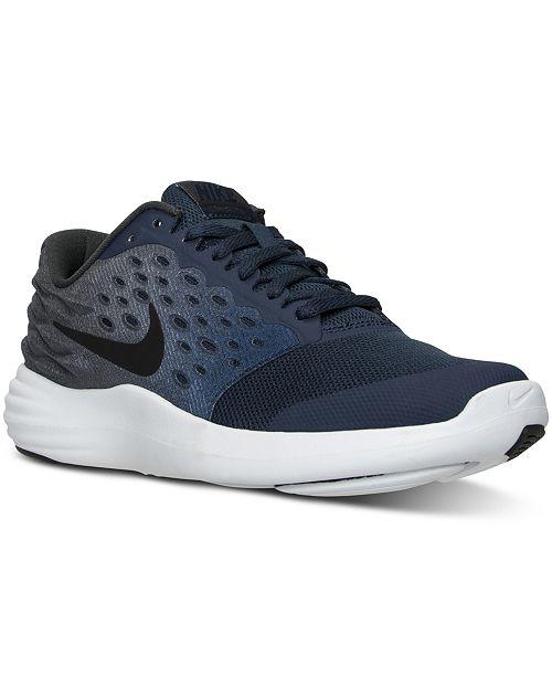 big sale 76a7e b2ce3 Nike Big Boys  LunarStelos Running Sneakers from Finish Line ...