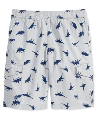 Image of Epic Threads Dino-Print Cargo Shorts, Little Boys (2-7), Only at Macy's