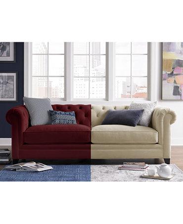 Macy S Living Room Furniture Fabric