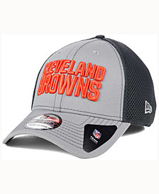 New Era Cleveland Browns Grayed Out Neo 39THIRTY Cap