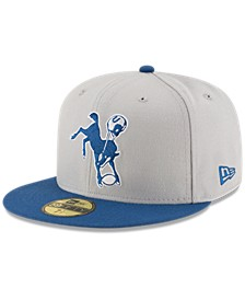 Indianapolis Colts Team Basic 59FIFTY Fitted Cap