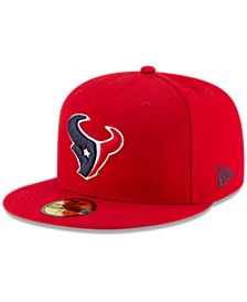 Houston Texans Team Basic 59FIFTY Fitted Cap