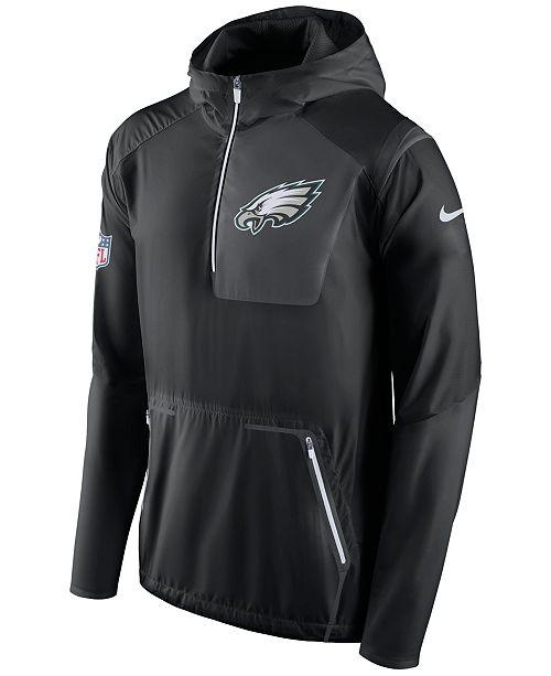 84c4cd69cb3dc Nike Men s Philadelphia Eagles Alpha Fly Rush Jacket   Reviews ...