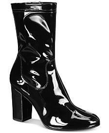 Kenneth Cole New York Women's Alyssa Block-Heel Booties