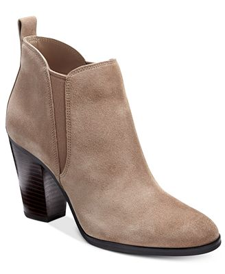 MICHAEL Michael Kors Brandy Round-Toe Ankle Booties