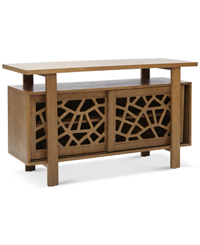 Crackle Buffet Table, Quick Ship