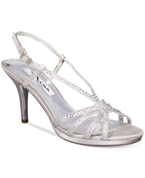 Nina Bobbie Slingback Evening Sandals Women's Shoes