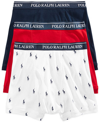 Polo Ralph Lauren Men S Underwear Boxer Briefs 3 Pack