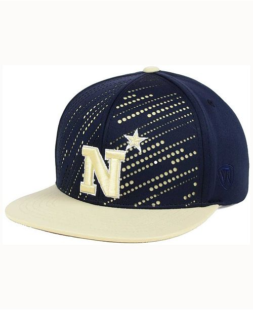 Top of the World Navy Midshipmen Sun Breaker Snapback Cap