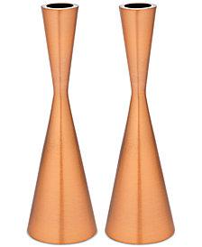 Godinger Lighting by Design 2-Pc. Hourglass Candlestick Set