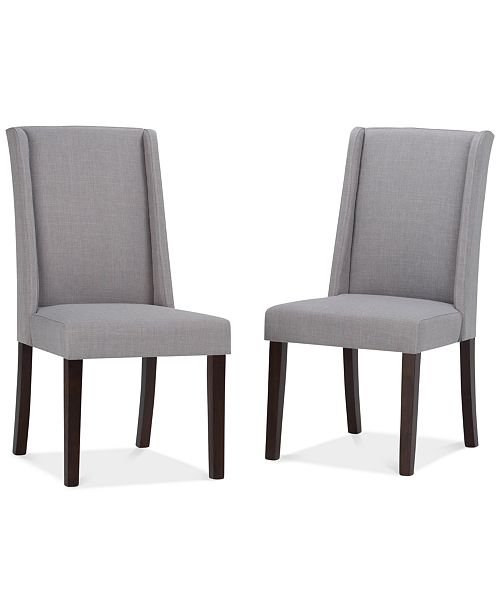 Furniture CLOSEOUT! Tanley 2 Pack Deluxe Dining Chair, Quick Ship
