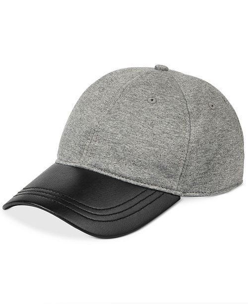 Kenneth Cole Reaction Men s Downtime Jersey Baseball Cap - Hats ... 65e09dd0d512