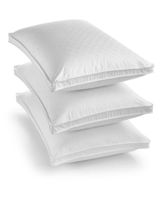 Hotel Collection European White Goose Down Firm Standard