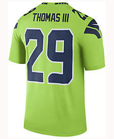 Nike Men's Earl Thomas III Seattle Seahawks Legend Color Rush Jersey